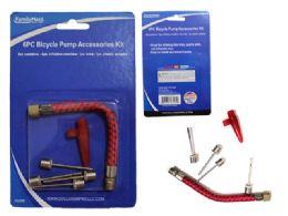 96 Units of 5 Piece Bike Inflating Needle Set - Pumps
