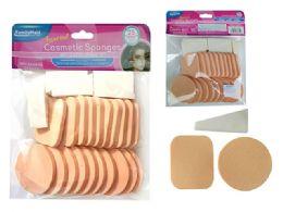 96 Bulk 25 Piece Cosmetic Makeup Applicator Sponges