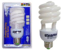 72 Bulk 30 Watt Energy Saving Spiral Lightbulb