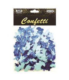 144 Wholesale Confetti Bottle Carriage Blue