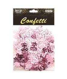 144 Wholesale Baby Girl Confetti