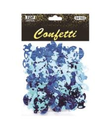 144 Wholesale Confetti Pony And Umbrellas Blue