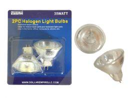 72 Bulk 2pc Halogen Light Bulbs