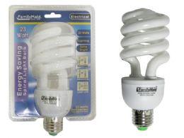 72 of 23 Watt Energy Saving Spiral Lightbulb