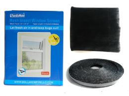 24 Units of Insect Window & Door Screen - Window Curtains