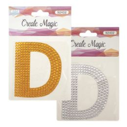 144 Units of Crystal Sticker D - Craft Beads
