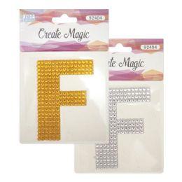 144 Units of Crystal Sticker F - Craft Beads