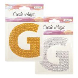 144 Units of Crystal Sticker G - Craft Beads