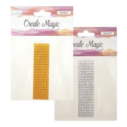 144 Units of Crystal Sticker I - Craft Beads