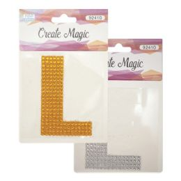 144 Units of Crystal Sticker L - Craft Beads