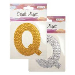 144 Units of Crystal Sticker Q - Craft Beads