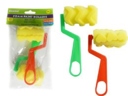 96 of 2 Pack Paint Foam Rollers