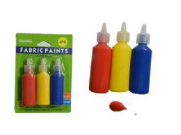 72 of 3pc Craft Fabric Paints