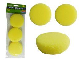 96 of 3 Piece Paint Sponges