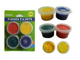 72 of 4pc Craft Finger Paints