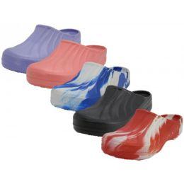 36 Wholesale Youth's Close Toe Garden Shoes ( *asst. Color )