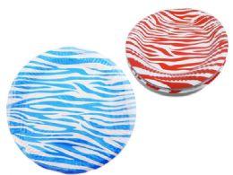 96 of 10 Piece Zebra Printed Plates