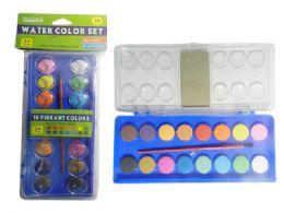 72 Bulk 16 Colors Water Color Set