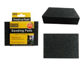 48 Units of 2 Pc Sanding Pads - Hardware Miscellaneous