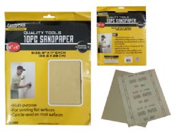 96 Units of 10pc Sandpaper - Hardware Miscellaneous
