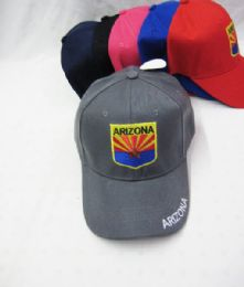 "36 Units of ""arizona"" Kids Cap Assorted Colors - Kids Baseball Caps"