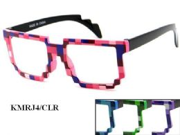 48 Units of Kids Plastic Eyeglasses Assorted - Eyeglass & Sunglass Cases