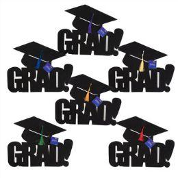 72 Units of Felt Graduation Cutout - Grad Hat W/ Tassle - Graduation