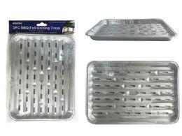 72 Units of 3 Piece Bbq Trays - BBQ supplies