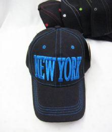 "36 Wholesale ""new York"" Base Ball Cap"