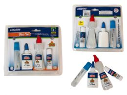 48 Bulk 4 Pack School Glue Set