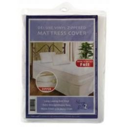 24 Units of Heavy Duty Zippered Mattress Cover King - Bed Sheet Sets