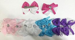 144 Units of Girls Assorted Colored Hair Clip - Hair Accessories