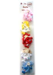 54 Units of Doll Style Hair Tie - PonyTail Holders