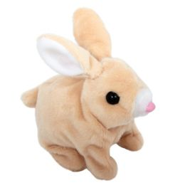 60 Bulk Plush Hopping Bunny with Sound