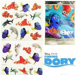 24 Units of Disney's Finding Dory Temporary Tattoos - Tattoos and Stickers