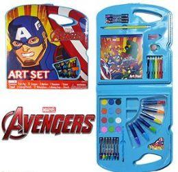 4 Wholesale 28 Piece Marvel's Avengers Art Sets