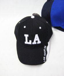 "36 Units of Kid's ""los Angeles"" Base Ball Cap - Kids Baseball Caps"