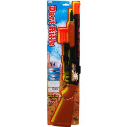 """36 Units of 23.5"""" Soft Dart Toy Shoot Gun Play Set Tied On Card - Toy Weapons"""