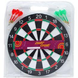 30 Bulk Dart Board Witharts In Pegable Blister Pack