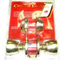 12 Units of Combo Deadbolt & Doorknob - Doors