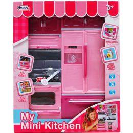 12 Units of Mini Kitchen Stove And Fridge In Window Box - Girls Toys