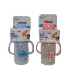 48 Units of Plastic Baby Bottle With Handles - Baby Bottles