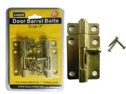 "72 Units of 2pc Door & Window Barrel Bolts Size: 3"" L - Hardware Miscellaneous"