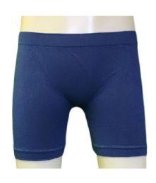 60 Units of Femina Girl's Seamless Shorts In Size Large - Girls Leggings
