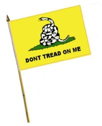 60 Units of Dont Tread On Me Stick Flags - Flag