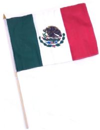 60 Units of Mexico Stick Flags - Flag