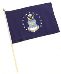 60 Units of Military Air Force Stick Flags - Flag