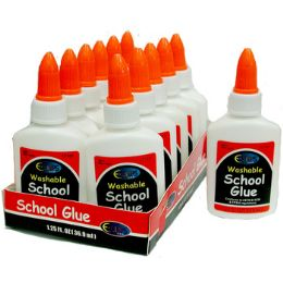 72 Bulk Washable White School Glue