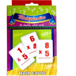 48 Bulk Multiplication Flash Cards - 36 Cards
