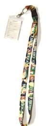 48 Units of Make America Great Again Lanyards - Camo Brown - ID Holders